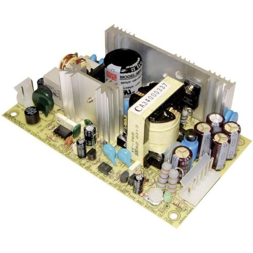 AC/DC vgradni napajalnik Mean Well MPT-65C 65 W, zaprti