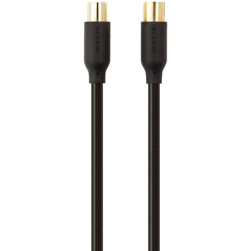 Antenski priključni kabel [1x antenski vtič 75 - 1x antenska vtičnica 75 ] 2 m 90 dB pozlačen kontakt