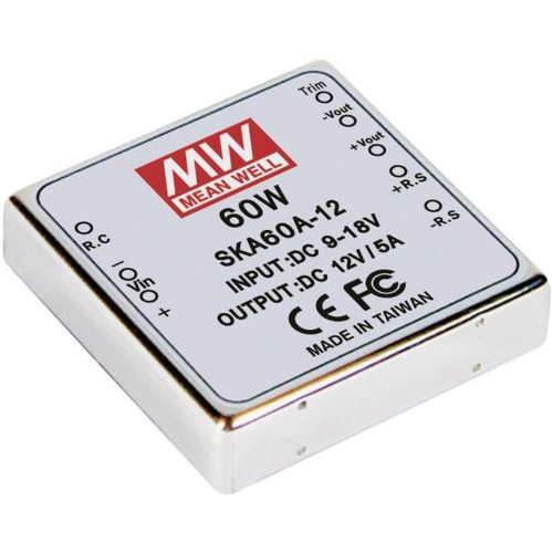 DC/DC-pretvornik Mean Well SKA60C-05 +5 V/DC 12 A