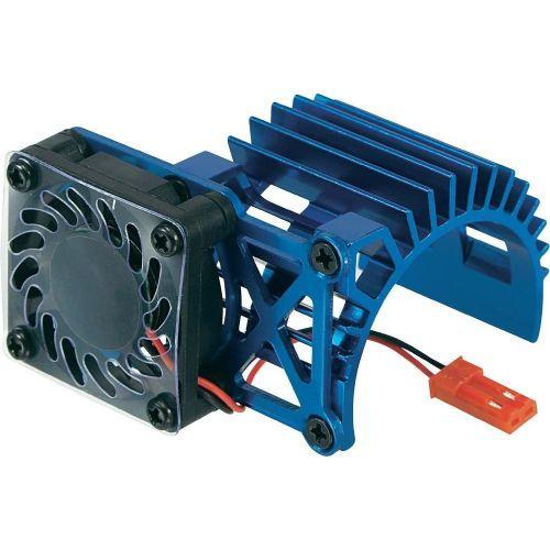 Hladilni element z ventilatorjem Reely, za motor velikosti 540, izvedba: ventilator na strani, modre barve WH-008/B