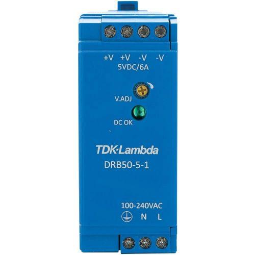 Napajalnik za namestitev na vodila (DIN letev) TDK-Lambda DRB-50-5-1 15 V/DC 2.5 A 30 W 1 x