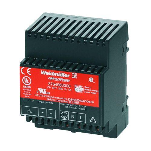 Napajalnik za namestitev na vodila (DIN-letev) Weidmüller CP SNT 300W 24V 12.5A 28 V/DC 12.5 A 300 W 1 x