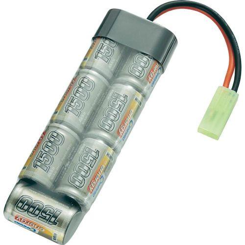 NiMH akumulatorski paket Conrad energy, 2/3 A, 8,4 V, 1500 mAh, vtični sistem: Mini Tamiya