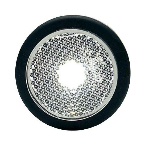 Pozicijska LED luč za priklopnike, odsevnik, bela 12 V, 24 V SecoRüt
