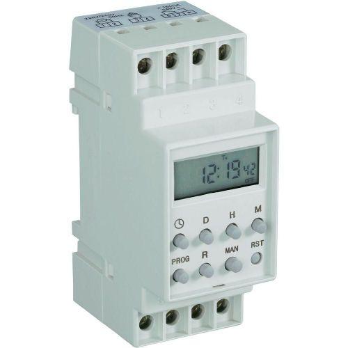 Stikalna ura za vodila, digitalna CE 230 V/AC 16 A/250 V