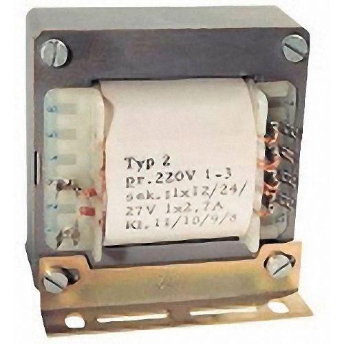Univerzalni transformator TE 138 3 - 6 - 9 - 12 - 15 - 18 - 21 - 24 - 27 - 30 V/AC 3 A Block