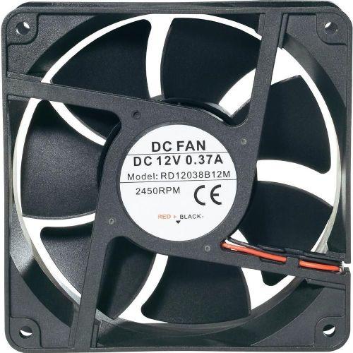 Vodotesni ventilator IP58RD12038B12M, (Š x V x G) 120 x 120x38 mm, nazivna nap. 12 V/DC