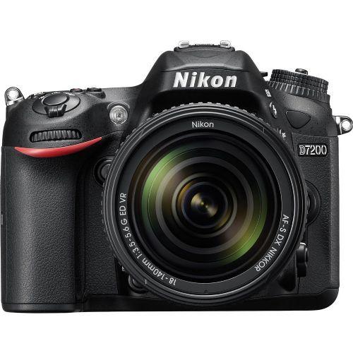 DSLR Fotoaparat NIKON D7200 + AF-S DX 18-140mm VR