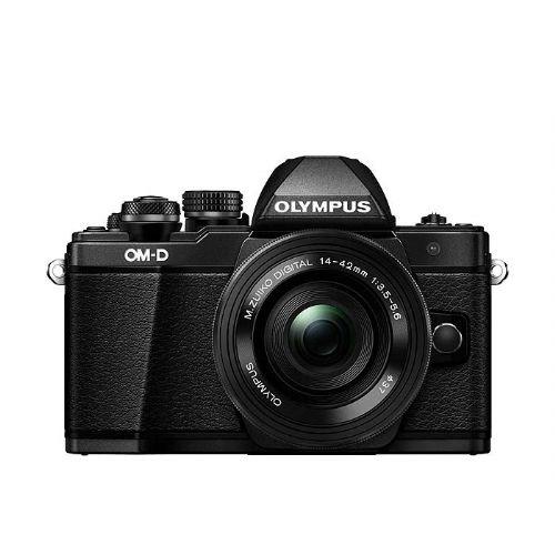 Brezzrcalni fotoaparat Olympus OM-D E-M10 II Črn + 14-42mm 1:3.5-5.6 EZ pancake črn