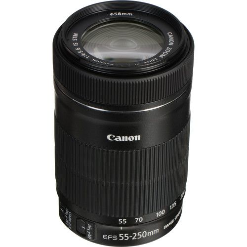 Objektiv CANON EF-S 55-250mm f/4-5.6 IS STM