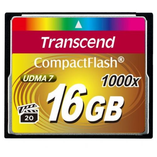 Spominska kartica Transcend Ultimate CF 16GB 1000x Hi - Speed