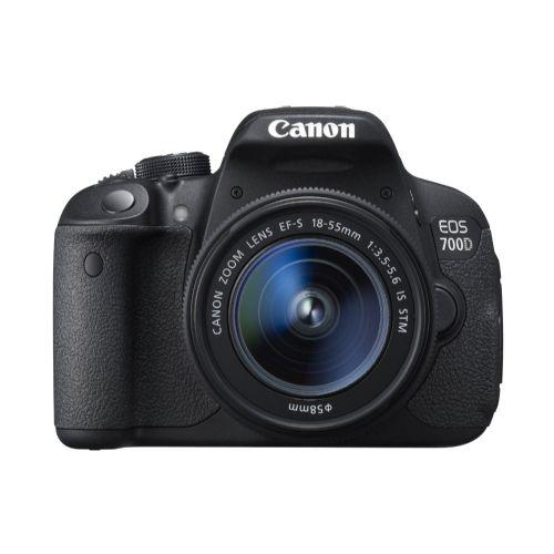DSLR fotoaparat Canon EOS 700D EF-S 18-55 IS KIT