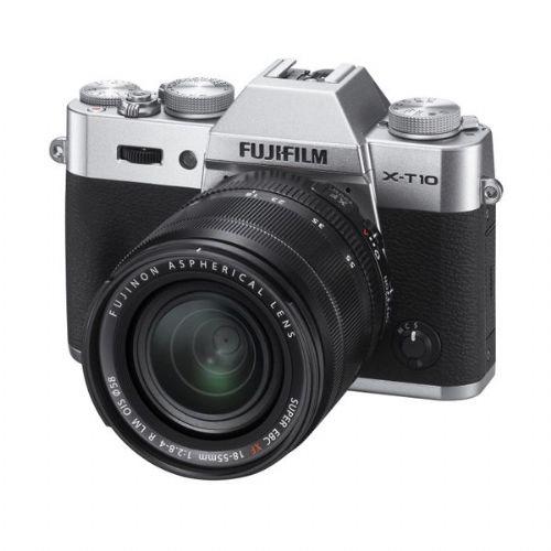 Brezzrcalni fotoaparat Fujifilm X-T10 + 18-55 f2.8-4 R LM OIS SREBRN