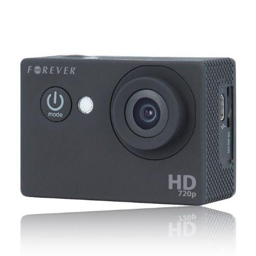 """HD športna kamera """"Adrenaline Rush 100"""" z bogatim paketom dodatkov"""