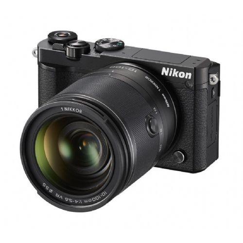 Brezzrcalni Fotoaparat NIKON J5 KIT + 10-100mm črn
