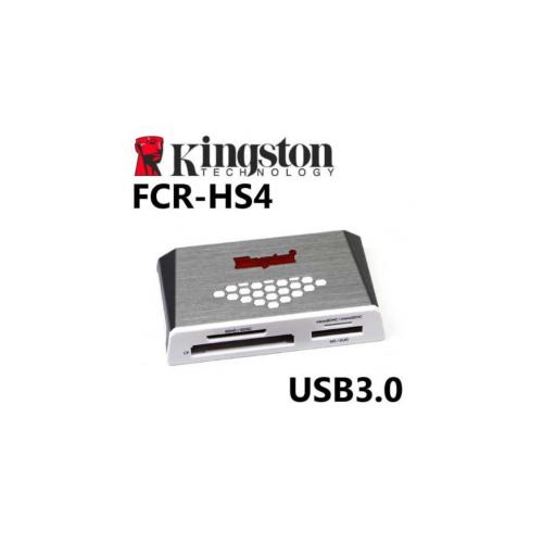 KINGSTON FCR-HS4 USB 3.0 čitalec kartic - FCR-HS4