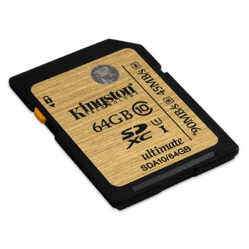Spominska kartica KINGSTON SDXC Class10 UHS-I 64GB