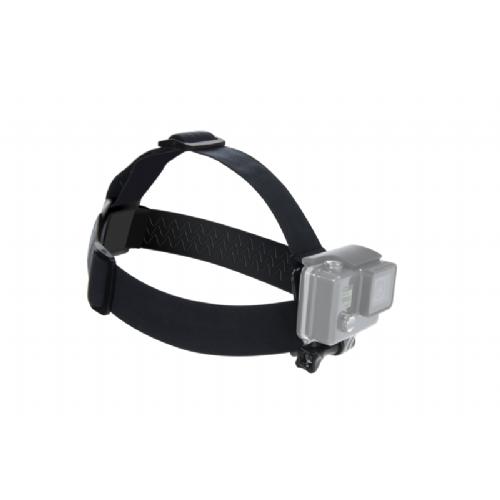Nosilec za glavo za GoPro črn