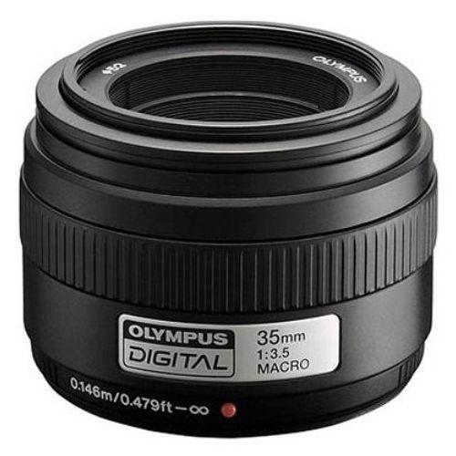 Objektiv OLYMPUS 35mm 1:3.5 Makro črn