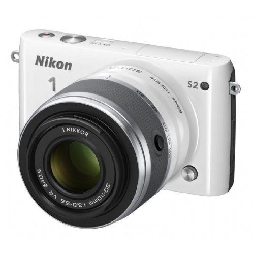 Brezzrcalni Fotoaparat NIKON S2 + 11-27.5mm+30-110mm (bel)