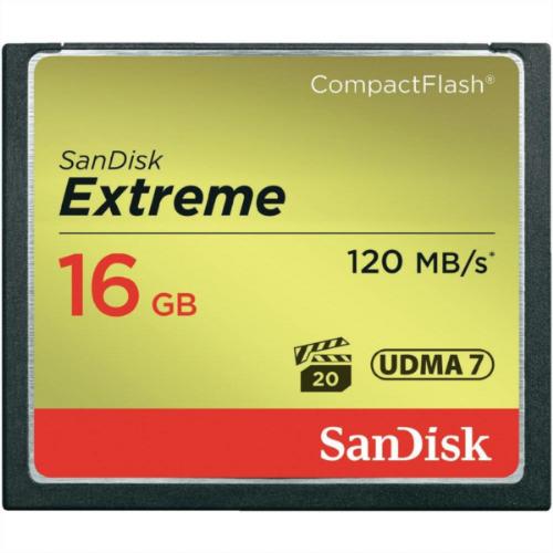 Spominska Kartica SanDisk 16GB 120MB/s - CF