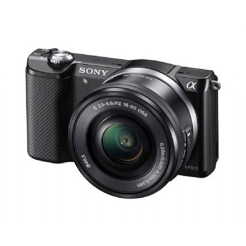 Brezzrcalni fotoaparat SONY Alpha A5000 ( body + objektiv SEL1650)