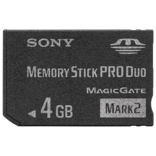 SONY MemoryStick DUO 4GB- MSMT4GN