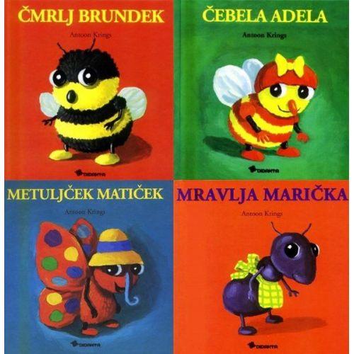 Zbirka Drobižki (4 knjige)