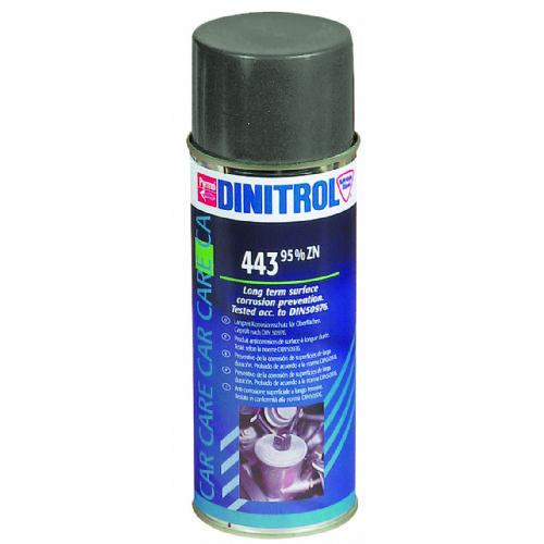 Na osnovi cinka. Dolgotrajna antikorozijska zaščita - DINITROL 443 Zinkfarbe 400ml