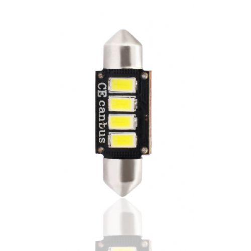 LED L334 - C5W 36MM 4XSMD5630 12V CANBUS