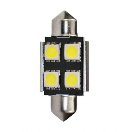 LED SVETILKA 2 KOS  L328 - C5W 36MM 4XSM