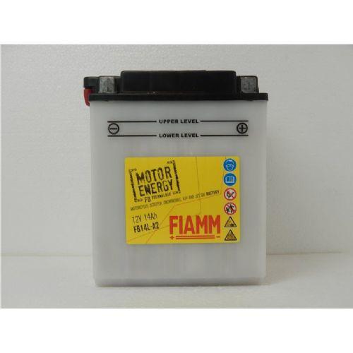 Moto akumulator 12V 14 Ah FIAMM FB14L-A2 (134x89x168)