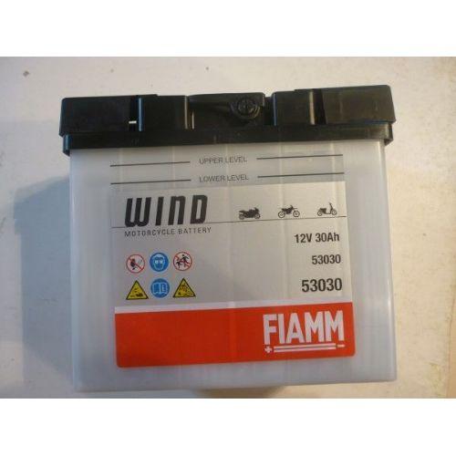 Moto akumulator 12V 30Ah FIAMM WIND 53030 (186x130x171)