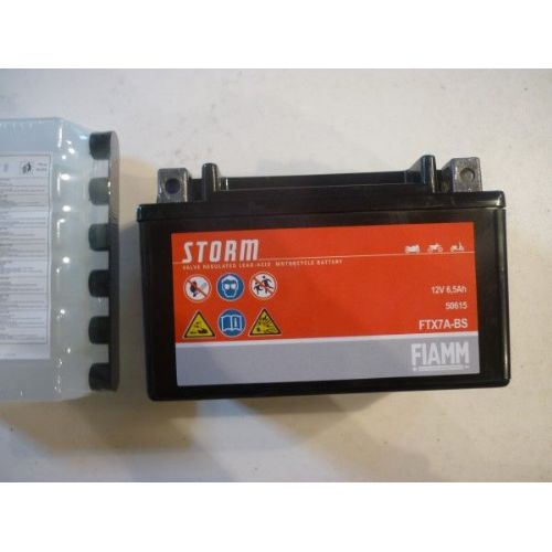 Moto akumulator 12V 6,5 Ah FIAMM FTX7A-BS (150x87x93)