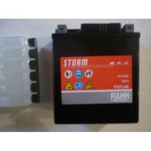 Moto akumulator 12V 6,5 Ah FIAMM FTX7L-BS (113x70x130)