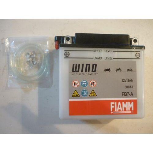 Moto akumulator 12V 8Ah FIAMM FB7-A (135x75x133)