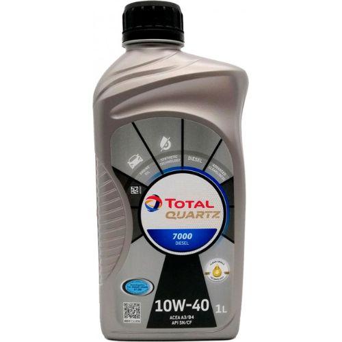 Olje Total Quartz 7000 Diesel 10W40 1L