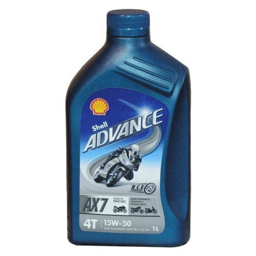 Olje Shell Advance 4T AX7 15W50 1L