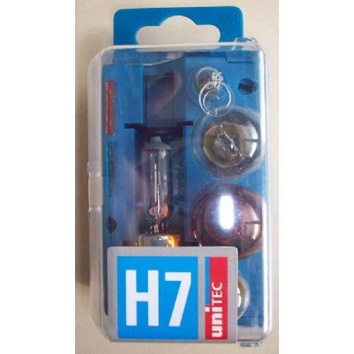 uniTEC Komplet žarnic za vozilo H7