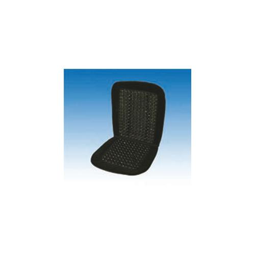 uniTEC Obloga za sedež iz lesenih kroglic 'Velours'