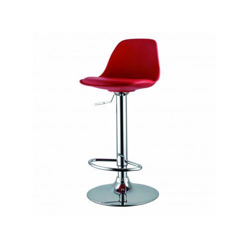Barski stol EA 16 rdeč
