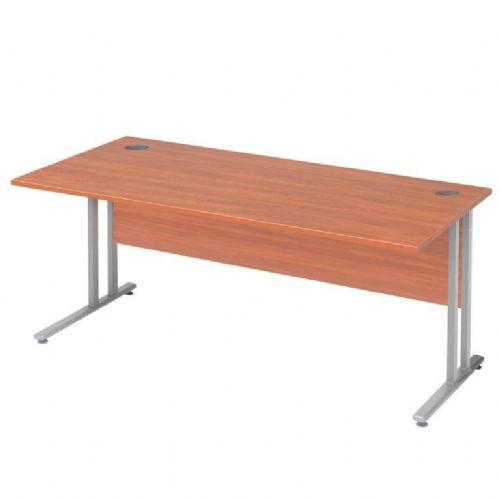 Flexus ravna pisarniška miza. 1200X800mm: kalvados laminat