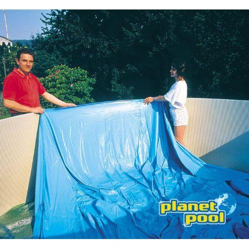 Folija 3,6x0,9 m modra 0,20 mm