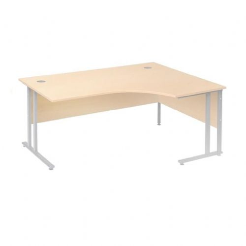Kotna pisalna miza Flexus: desna: D 1600 mm: breza