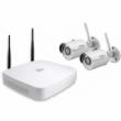 DAHUA IP Wi-Fi video nadzorni komplet (NVR4104-W/2-HFW1320S-W)  - 2 x HFW1320S-W 1