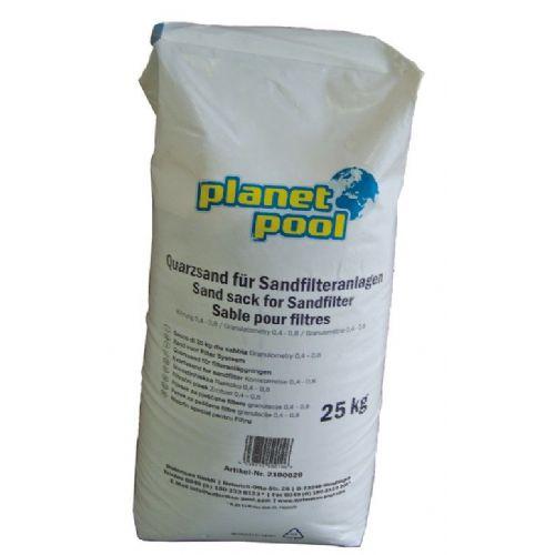 Pesek filtrirni gr. 0,4 - 0,8 25 kg QW