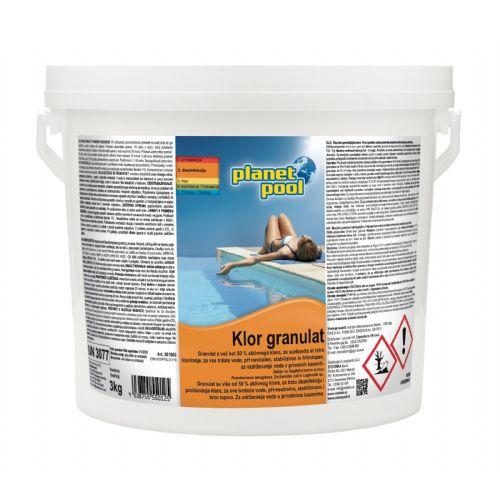 PP - Klor granulat 3 kg - hitrotopen