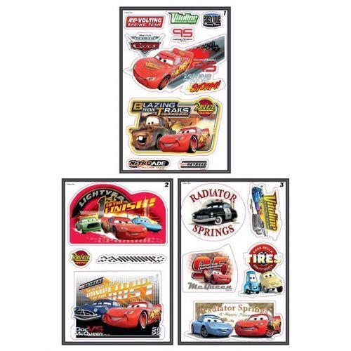 Stenske nalepke Disney Cars 36 nalepk