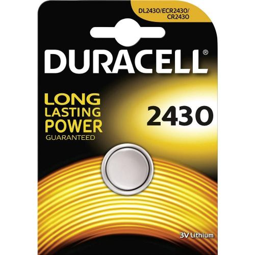 Gumbna baterija CR 2430 litijeva Duracell CR2430 285 mAh 3 V, 1 kos