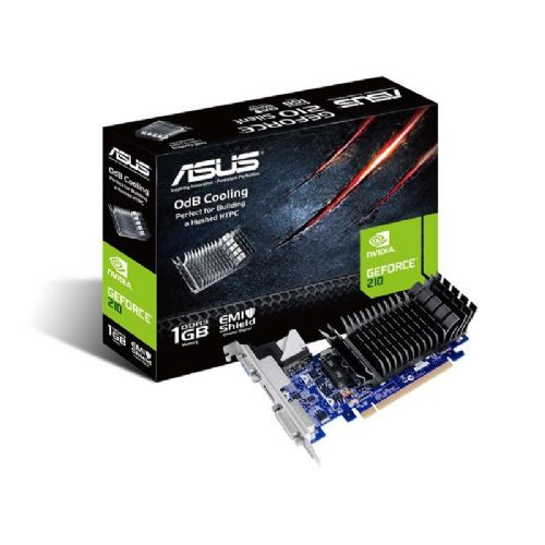 ASUS GeForce EN 210 1GB GDDR3 Silent Low Profile (EN210 SILENT/DI/1GD3/V2(LP)) grafična kartica